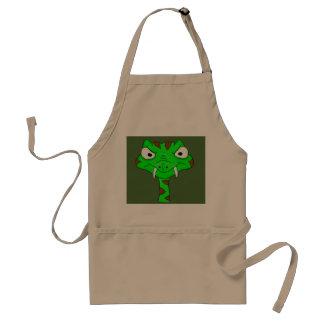 Green viper adult apron