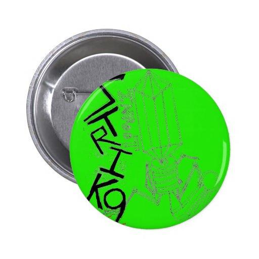 Green Viral Button