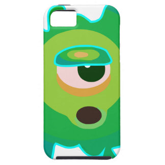 Green virus iPhone SE/5/5s case