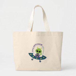 Green Visitor Tote Bag