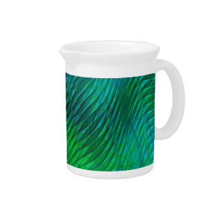 Green Voile Drink Pitcher