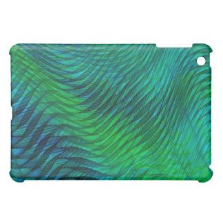 Green Voile iPad Mini Cover