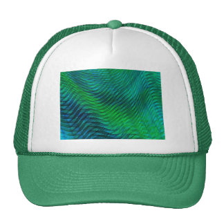 Green Voile Mesh Hat