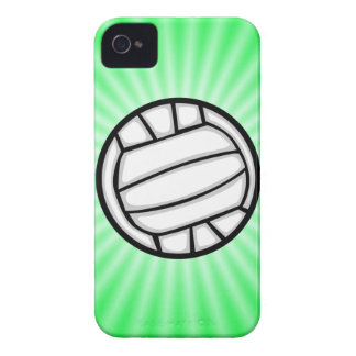 Green Volleyball Case-Mate iPhone 4 Case