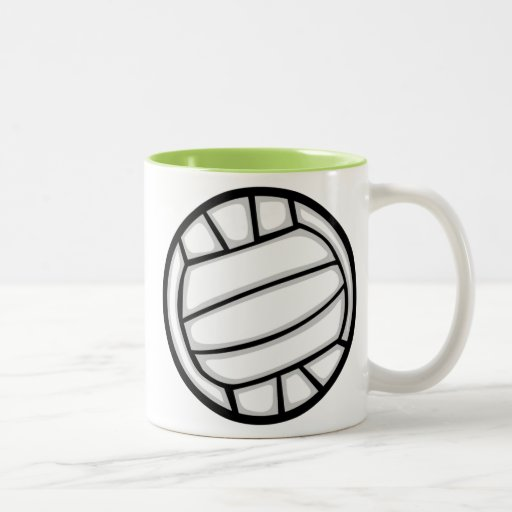 Green Volleyball Mug