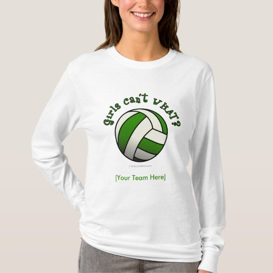 Green Volleyball T-Shirt