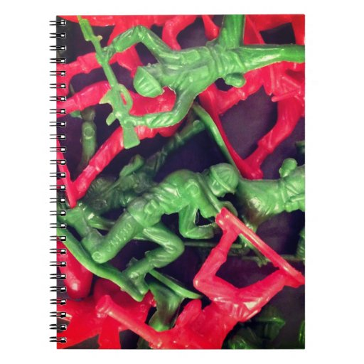 Green vs Red Note Books