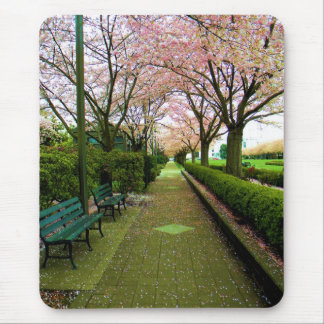 Green Walk Mouse Pad