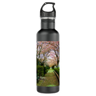 Green Walk Stainless Steel Water Bottle