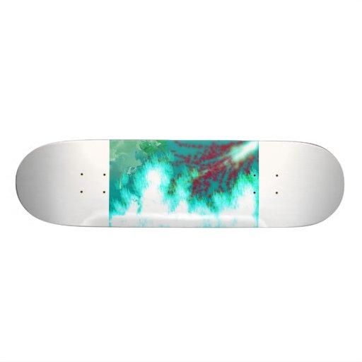 green war skate decks