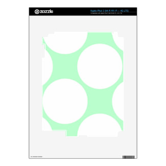 green water and great white spots iPad 3 decal