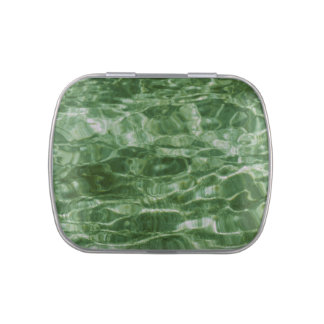 Green Water Candy Tin