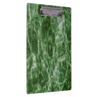 Green Water Clipboard