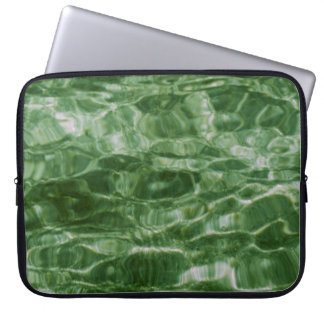 Green Water Computer Sleeve