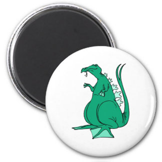 Green Water Dragon Magnet