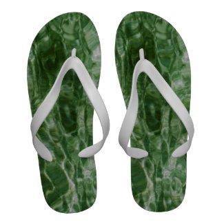 Green Water Flip-Flops