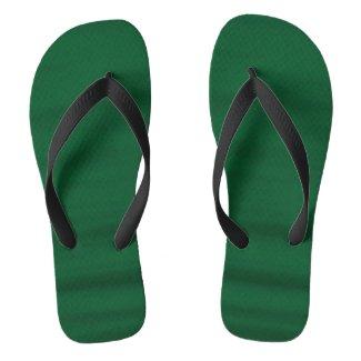Green Water Flip Flops