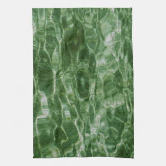Green Water Kitchen Towel
