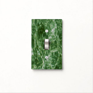 Green Water Light Switch Cover