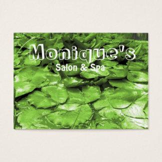 Green water lilies Spa salon gift certificate