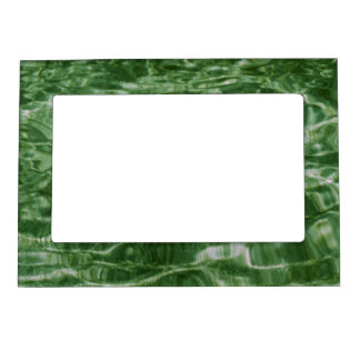 Green Water Magnetic Photo Frame