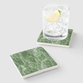 Green Water Stone Coaster