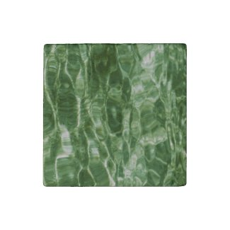 Green Water Stone Magnet