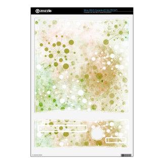 Green Watercolor Retro 60's Design Xbox 360 S Decals