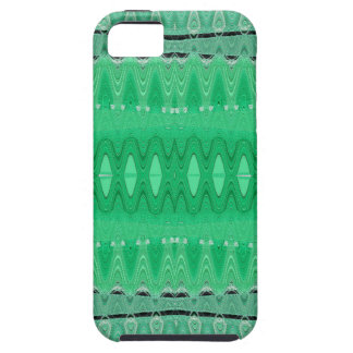 Green wave abstract iPhone SE/5/5s case