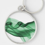 Green Wave Keychain