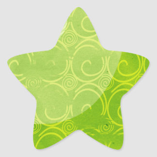 green wave Sticker