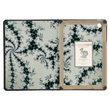 Green Webs - delicate fractal lace iPad Mini Case