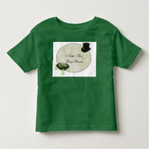 Green Wedding Custom Ring Bearer Tshirt