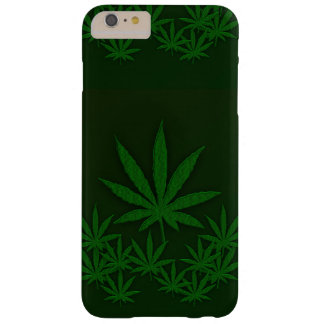 Green Weed Barely There iPhone 6 Plus Case