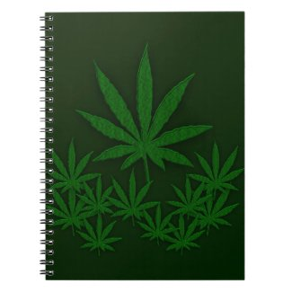 Green Weed Notebook