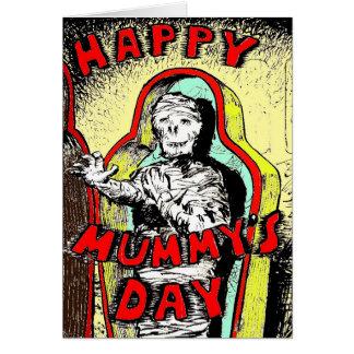 "Green Weenii ""Happy Mummy's Day"" Greeting Card"