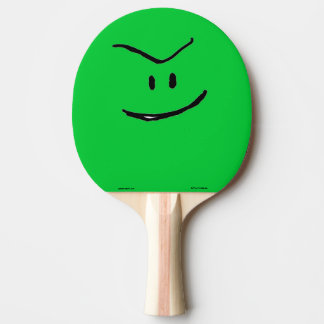 Green Weenii Ping Pong Paddle