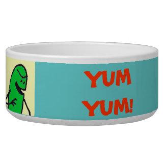 "Green Weenii ""Yum Yum!"" Pet Food Bowl"