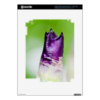 green welcomes purple iPad 3 skin