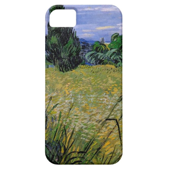 Green Wheat Field with Cypress by Van Gogh. iPhone SE/5/5s Case