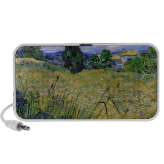 Green Wheat Field with Cypress by Van Gogh. Mp3 Speaker