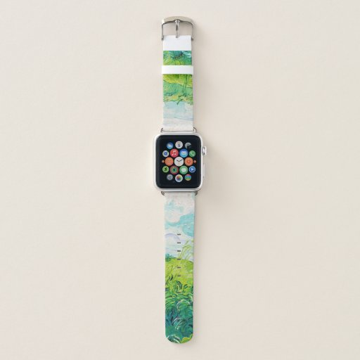 Green Wheat Fields, Van Gogh Apple Watch Band