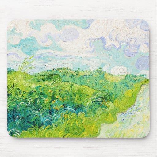 Green Wheat Fields, Van Gogh Mouse Pad