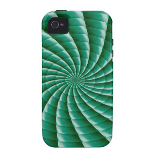 Green Wheel Chakra TEMPLATE add TEXT IMG customize Case-Mate iPhone 4 Cover