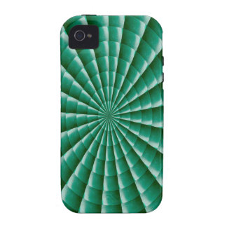 GREEN Wheel Chakra TEMPLATE add TXT IMG Customize iPhone 4/4S Cover