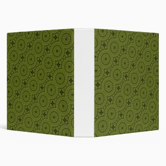 Green Wheel Mandala / Grünes Rad Mandala