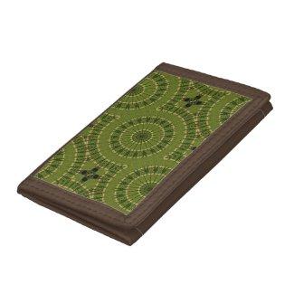 Green Wheel Mandala Kaleidoscope