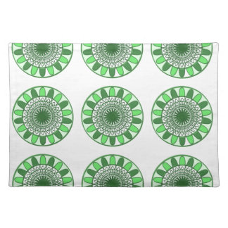 Green : Wheel of Movement to Conservation Cloth Placemat