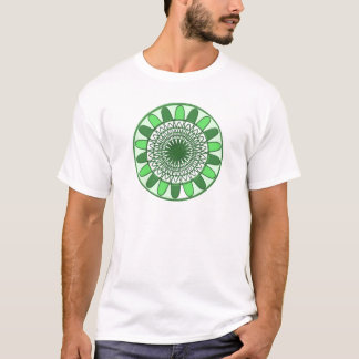 Green : Wheel of Movement to Conservation T-Shirt