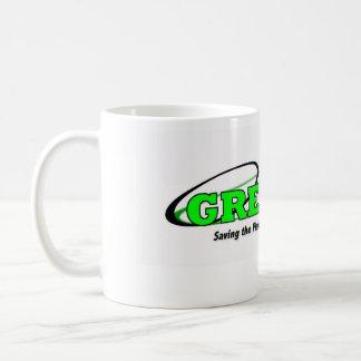 Green Wheelin' Mug
